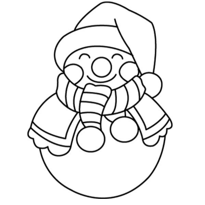 Coloriages à imprimer sur la saison d'hiver . Autant d'images qui rappellent l'hiver : habits d'hiver, sports d'hiver, Noël ..