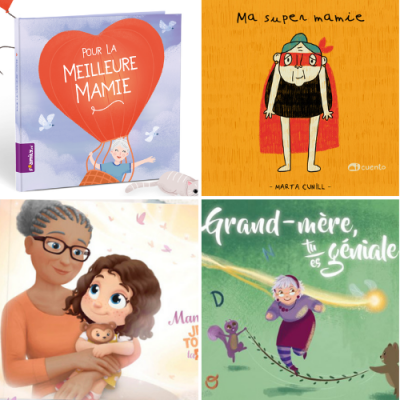 Nos marques préférées et nos conseils pour bien choisir votre livre à personnaliser pour mamie et offrir un cadeau unique à la Fête des grands mères.