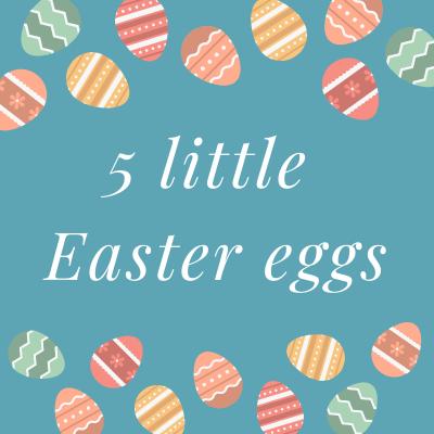 """Une petite comptine de Pâques en anglais sur les oeufs de Pâques, les couleurs et les nombres. En anglais comme en français, la comptine est une très bonne façon d'apprendre à compter et d'apprendre le nom des couleurs. La comptine """"A counting"""