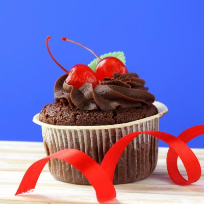 Cupcake ganache chocolat