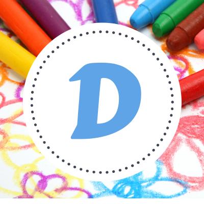 Coloriage Damien - Coloriage prénoms commençant par D