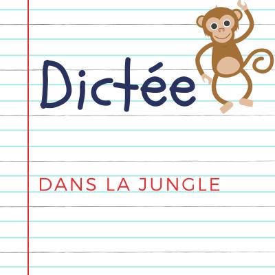 Dictée pour les enfants en CE2. Dans la jungle (extrait) de Richard Chapelle : Je continue ma marche, une marche toujours pénible. J'enfonce dans la boue, je trébuche sur des branches...