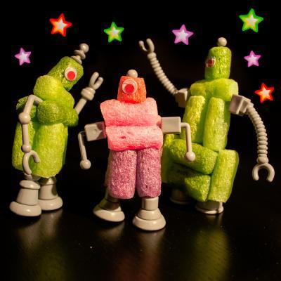 Un tuto pour apprendre à fabriquer des robots en playmaïs - un jouet pour les enfants