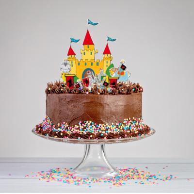 """Motifs de décorations de gâteau à imprimer pour un """"gâteau décoration chevalier"""". Un ensemble d'éléments de décoration à imprimer pour cr&am"""