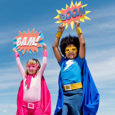 Que ce soit pour les fêtes d'enfants ou pour s'occuper le mercredi ou le week-end, les enfants adorent se déguiser, inventer et vivre des histoires extraordinaires ! Mais voilà on n'a pas toujours le déguisement qu'il faut sous la main. Cette rubrique vou