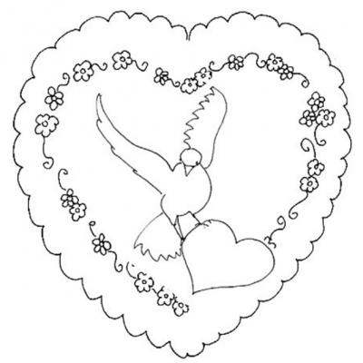 Coloriage Saint Valentin Tous Les Dessins à Imprimer De