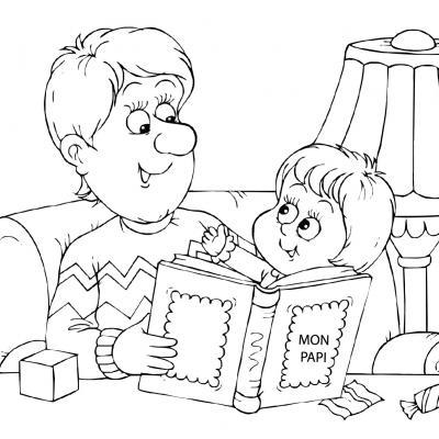 Dessin Grand Père : si vous cherchez un coloriage sur le thème des papis, retrouvez une sélection à imprimer gratuitement avec Tête à modeler.