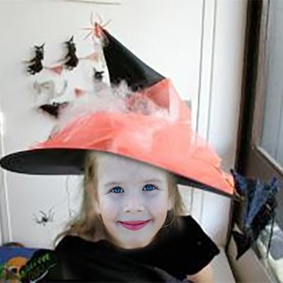Chapeau de sorcière d'Halloween