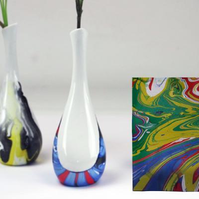 tuto pour décorer un objet avec du magic marble