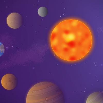 Constitué d'une étoile, le soleil et de huit planètes, le système solaire nous fascine. Pour initier la découve...