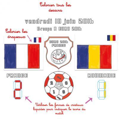 Feuilles de match : résultats des matchs de l'Euro 2016