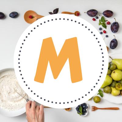 """Sommaire des fiches de cuisine commençant par la lettre """"M"""". Des recettes de cuisine comme moule, madeleine, muffin ... Classement alphabétique des fiches de cuisine de Tête à modeler"""