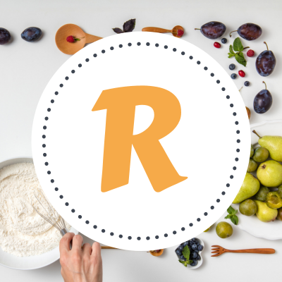 """Toutes les recettes de cuisine commençant par la lettre """"R"""". Des recettes de cuisine comme le riz, le rouget, le rôti ... Classement alphabétique des fiches de cuisine de Tête à modele"""