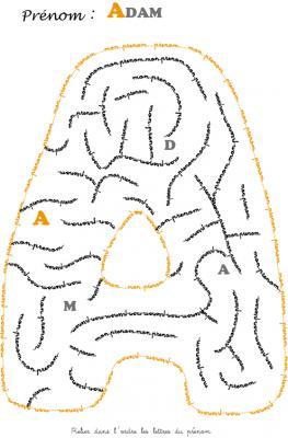 labyrinthe adam