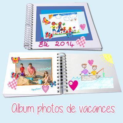 Album photos de vacances