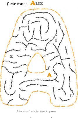 labyrinthe alix
