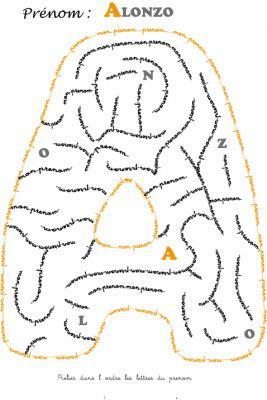 labyrinthe alonzo