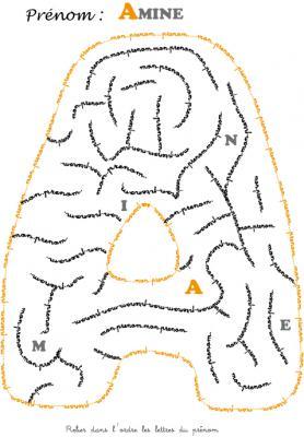 labyrinthe amine