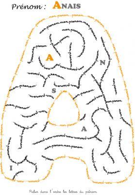 labyrinthe anais