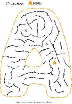 labyrinthe anne