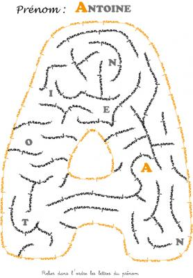 labyrinthe antoine