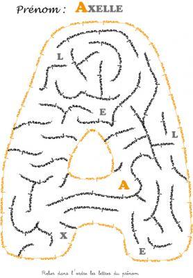 labyrinthe axelle
