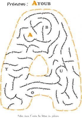 labyrinthe ayoub