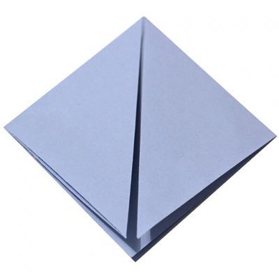 Pliage origami losange carré