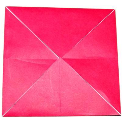 Pliage enveloppe carrée