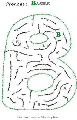 labyrinthe basile