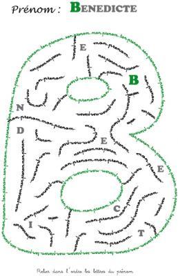 labyrinthe benedicte