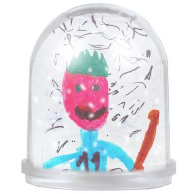 Globe à neige décorée