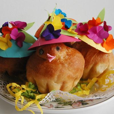 Brioches de Pâques déguisées
