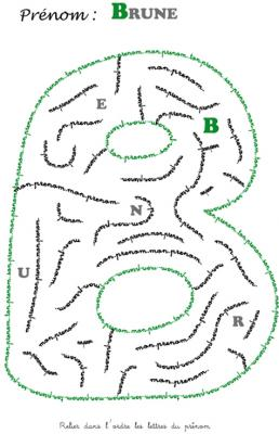 labyrinthe brune
