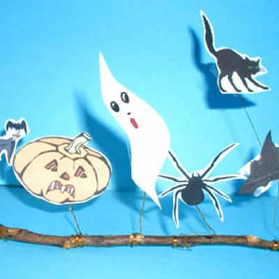 Réaliser un décors buffet Halloween