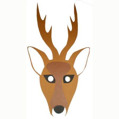 masque de cerf