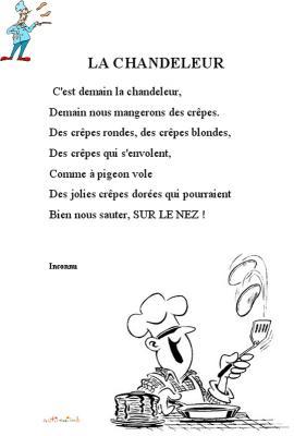poésie de la chandeleur