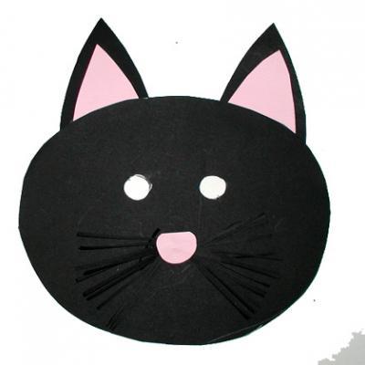 Fabriquer un masque de chat pour le carnaval et les déguisements