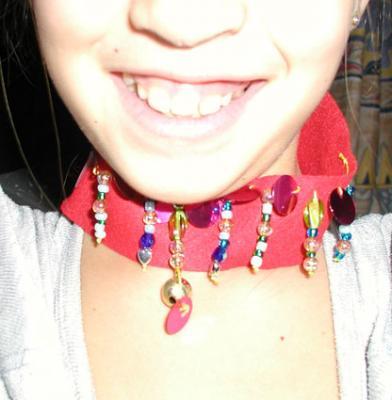 Fabriquer un collier Laos