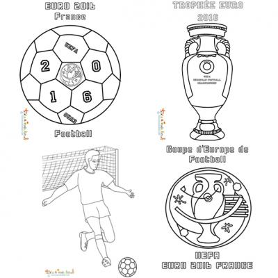 Coloriage Match De Football.Coloriage Football Euro 2016 Coloriage Football
