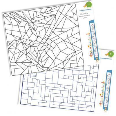 Coloriages magiques et géométrie