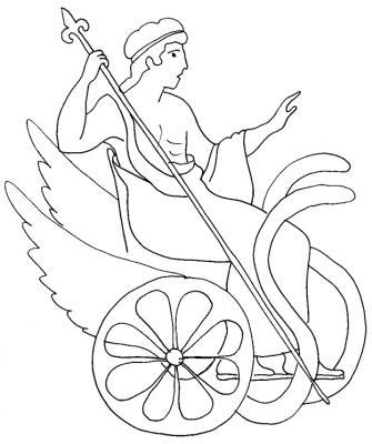 Faire des coloriages de romains
