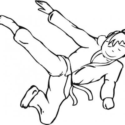 Coloriages sur le judo