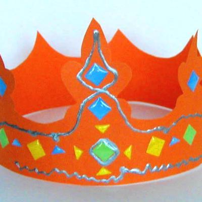 couronne royale pour les déguisements d'enfants