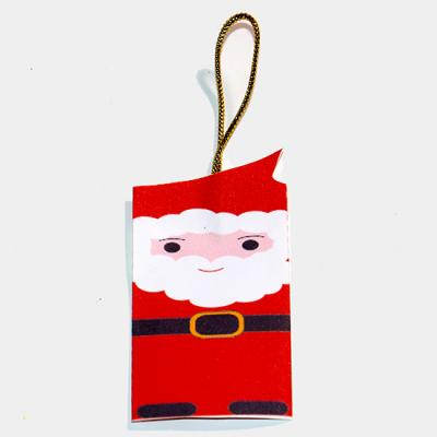 Décoration sapin Père Noël en papier