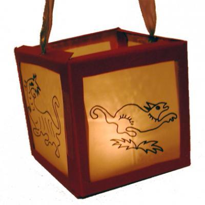 Fabriquer une lanterne chinoise en papier