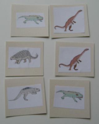 memory dinosaures : jeu de mémoire pour les enfants