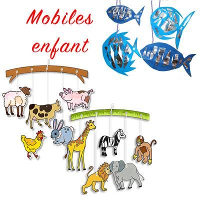Mobiles enfant, bricolage mobiles pour enfant