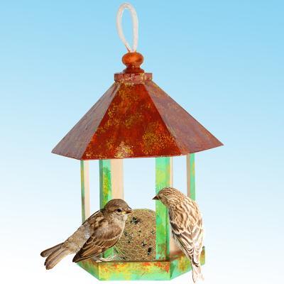 Mangeoire kiosque pour les oiseaux