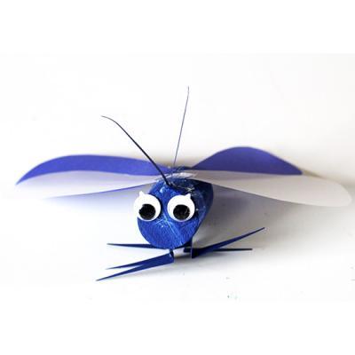 Petit papillon en bouchon de printemps